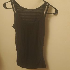 3for$12 Tweny One Black Tank Top Size Small